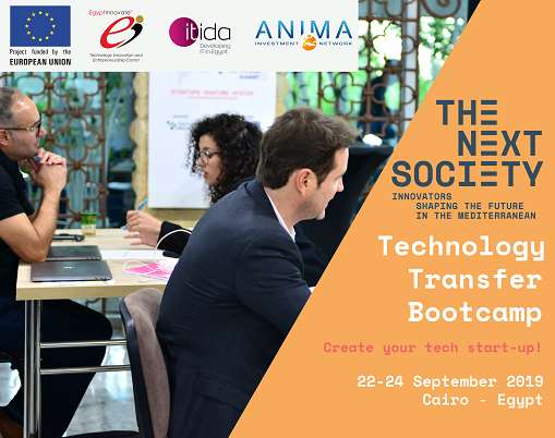 THE NEXT SOCIETY Technology Transfer Bootcamp
